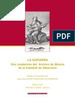 Libro Guitarra