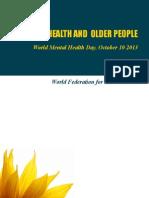 Salud Mental y adultos mayores - Día SM 2013