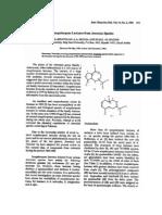 Sesquiterpene Lactones From Artemisia Species