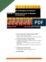 Estudios DEL ANTIGUO TESTAMENTO