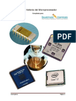 Breve Historia Del Microprocedador