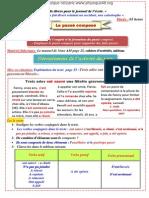 Conjugaison   Projet 01 Séquence 01 3AM 2012-2013