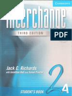 Interchange 2A Student Book