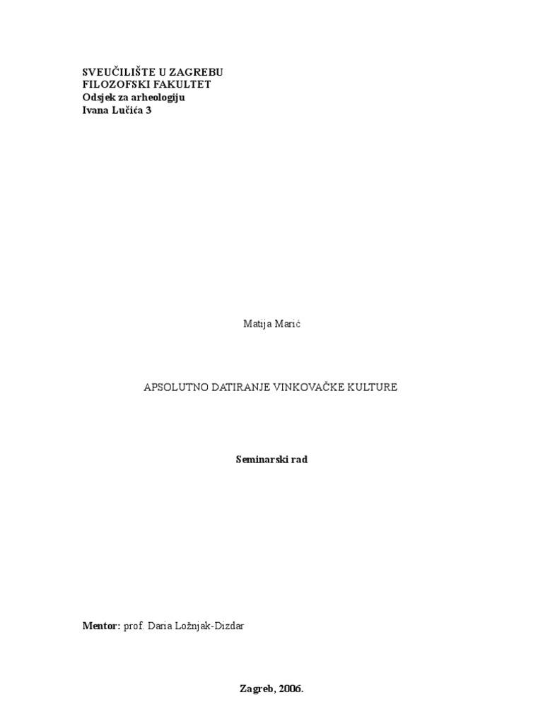 Što je radiokarbonsko datiranje