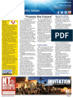Business Events News for Wed 25 Sep 2013 - NT \'Frames the Future\', ACB sells events success, Macarthur on hooves and skates, Gray\'s Say and much more