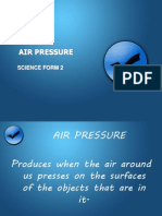 Air Pressure science form 2 chapter 6