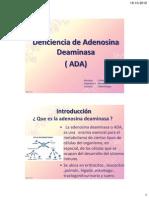 Deficiencia Adenosina D..pdf