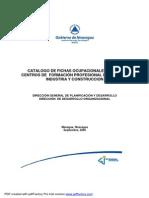 Catalago Sector Industria y Construccion