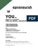 TanadiSantoso Entrepreneurship