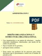 UTP DISEÑO  Y ESTRUCTURA ORGANIZACIONAL