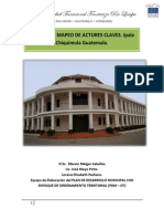 Informe de Mapeo de Actores Claves.