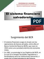 1.1 El sistema financiero salvadoreño