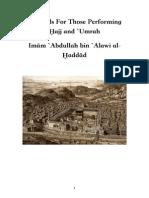 Imam Al Haddad s Hajj Counsels