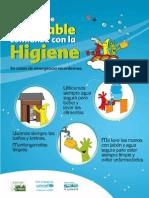 Afiches Agua Saneamiento Unicef