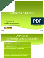 Loans and Advances