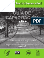 Road to Health Training Guide Spanish
