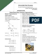 Introducción - Funciones Trigonométricas
