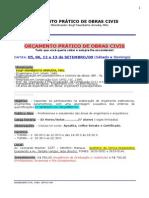 Eve090818curso Pratico de OrCamento de Obras - 18-08-09