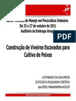 Apresentacao Luiz Ayroza Construcao de Viveiros Escavados Para Cultivo de Peixeis