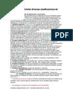 investig.cientifica -Clasificación