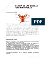 Drogas Uteroinhibidoras y Maduracion Pulmonar Fetal.