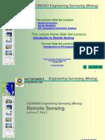 GEOM3003 Engineering Surveying (Mining)
