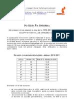 piattaforma rinnovo contratto 2010-2011