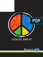 Biotechnology Biotechdesk Catalog 2006 07