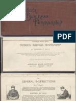 Modern Business Penmanship 1903