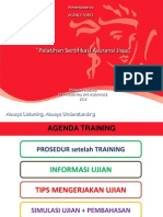 Soal AAJI ( Pelatihan Sertifikasi Asuransi Jiwa)