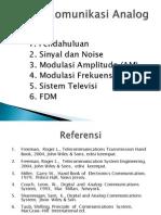 Sistem Komunikasi Analog 1