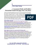 commoncoretestsmythsrealitiesfactsheet 0