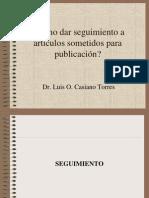 Cómo Hacer Seguimiento Articulos Revista-34 ppt