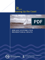 Sewage Systems for Boats