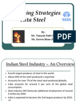 Tata Steel Case Study