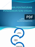 Tujuan Pentaksiran PSV Kemahiran Bahasa Visual Kefahaman Seni Visual 2