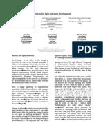 Menifesto of Agile Software Development