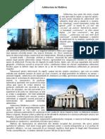 Arhitectura in Moldova