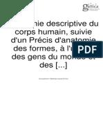 Anatomie Descriptive du Corps Humanaine