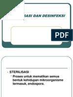 4.Sterilisasi Dan Desinfeksi