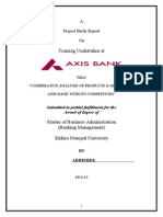 Axis Bank Project File