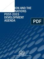 IOM - Migration and Post-2015 Development Agenda