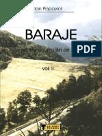 Baraje Pentru Acumulari de Apa Vol II - Popovici Adrian