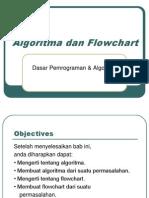 Alrogirma Dan Flowchart Pemrograman Dasar