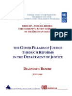 DOJ Diagnostic Report