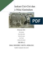 Tugas Bahas Indonesia Tentang Gurindam