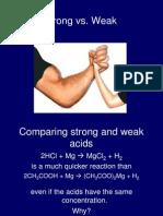 strong vs weak - bottles