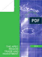APEC Trade and Investment 2013