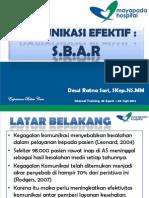 Komunikasi Efektif Sbar_dewi Rs_28 Agst 2013