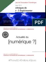 Séance 4 // Sciences et Techniques de l'Entrepreneur